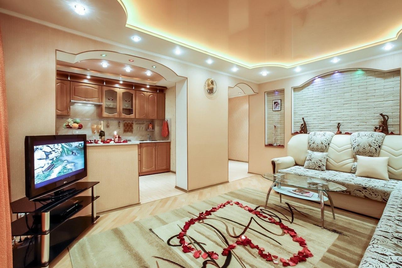 Декор зала в квартире фото